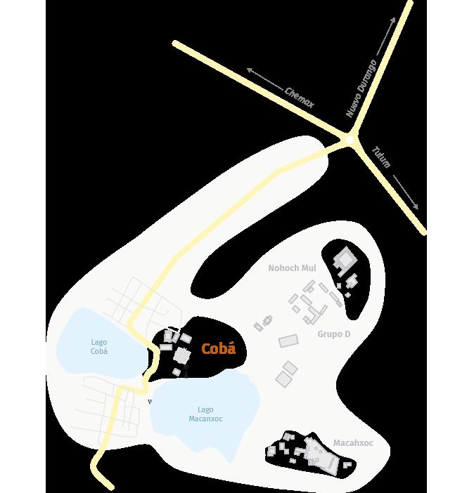mapa coba
